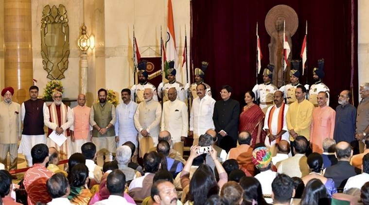 Modi promotes 4 to Cabinet, inducts 9 new