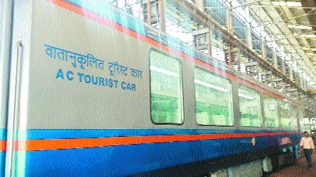 Central Railway gets Vistadome coach