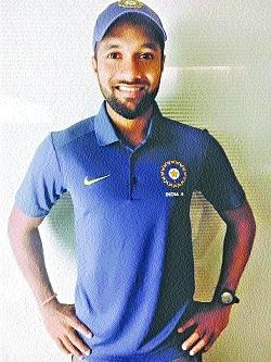 Pankaj Rao first from State to play Duleep Trophy