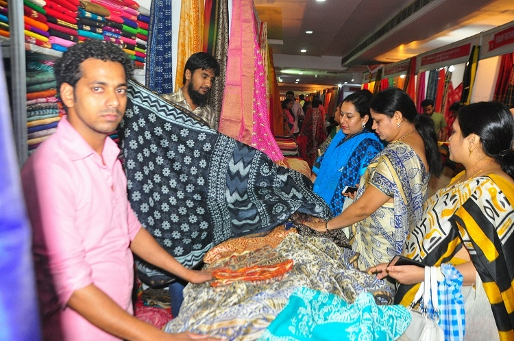 Silk Fab Exhibition to conclude today