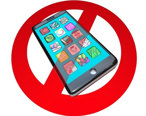 Mobile phones banned in schools