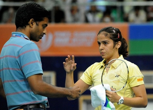Saina returns to Gopi Academy