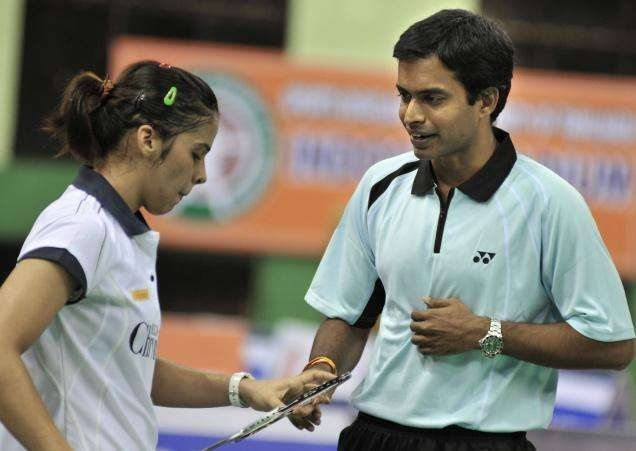 Now back with Gopi, Saina eyes Superseries Final qualification