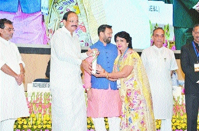 Dr Meenal Sangole from city gets National Teacher Award