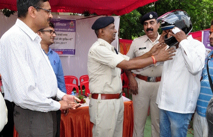 Ramkrishna Care Hospital holds campaign on importance of Road safety