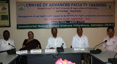 'Experts will share facts to improve soil, human health in JNAU training'