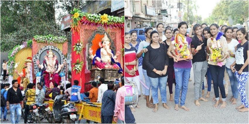 Tearful farewell to Lord Ganesha