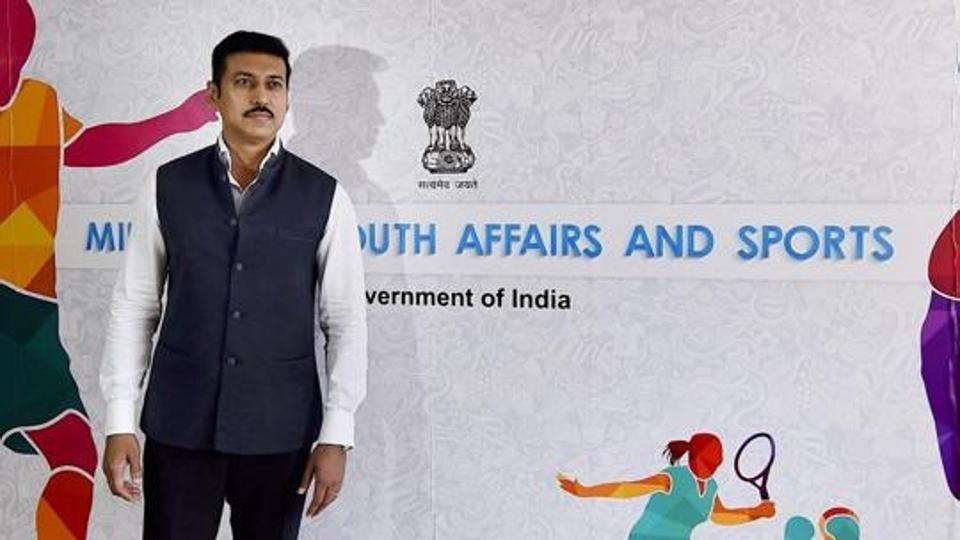 Change mentality, Sports Min Rathore tells SAI officials