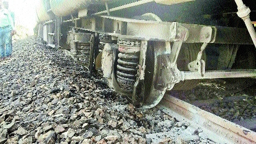 Three derailments and one near miss, Railways faces tough day