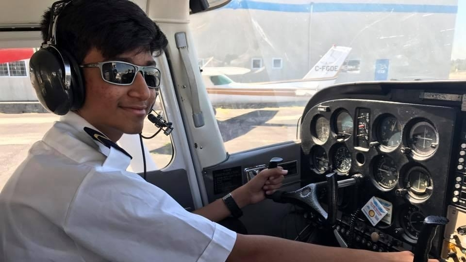14-year-old Indian-origin schoolboy in UAE is youngest pilot to fly single-engine plane