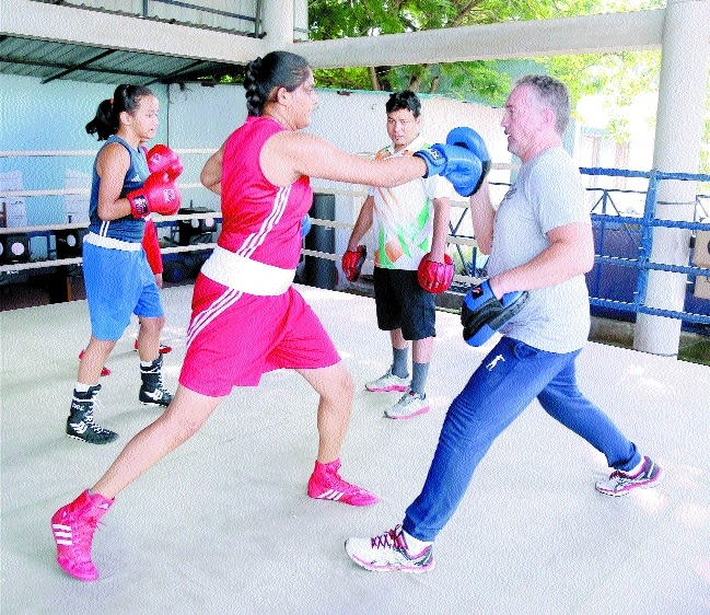 Boxers pack a punch under new Italian coach
