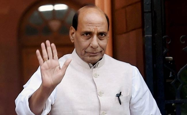 Visiting J&K with open mind: Rajnath