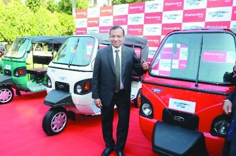 Mahindra launches e-Alpha Mini