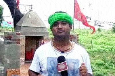 Muslim youth renovates Hanuman Temple at his own expenses