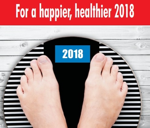 For a happier, healthier 2018