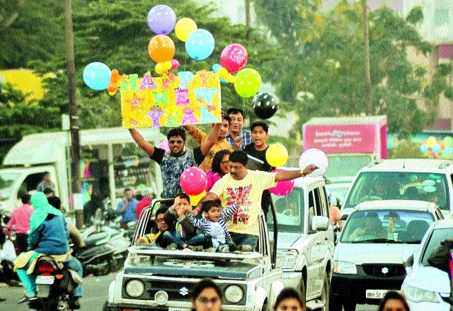 Celebrations at peak to ring in New Year