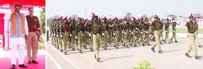 774 recruits pass out as CISF personnel from RTC