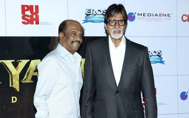 Amitabh Bachchan, Kamal Haasan, others wish Rajinikanth