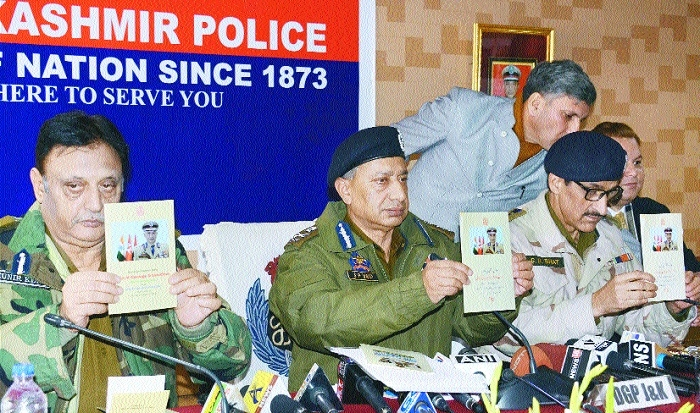 206 militants killed, 75 persuaded to give up arms in 2017: DGP