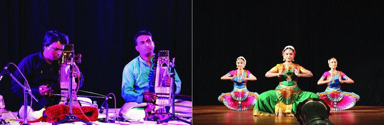 Sarangi Jugalbandi, Bharatnatyam enthrall audience