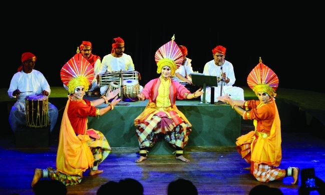 First day of play 'Chitrapat' staged at Bharat Bhawan