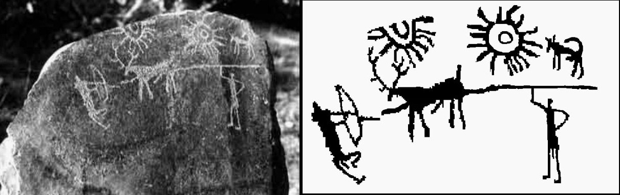 Oldest supernova found in 5,000-year-old rock carving in Kashmir