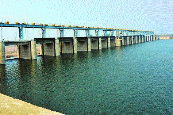 For the first time, full water storage at Dhapewada barrage
