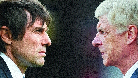 Wenger eyes new recruits as troubled Arsenal face Chelsea test