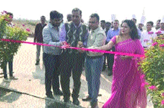 Newly-developed garden inaugurated at Avinash Suncity