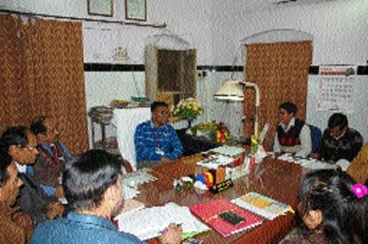 Rural Development Department's review meeting held at Katni