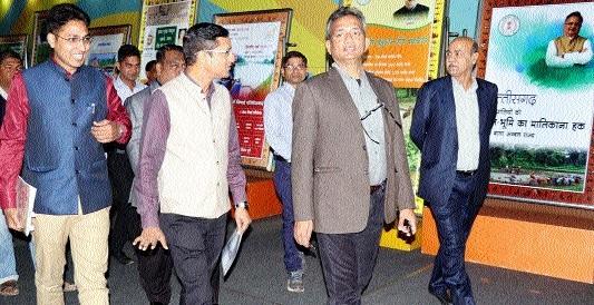 Union Joint Secretary Tiwari lauds Hamar Chhattisgarh Yojana