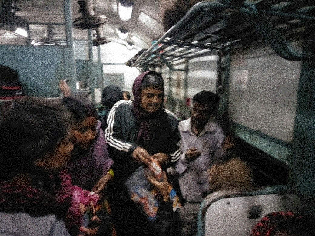Railway ensures food for passengers after train develops technical fault