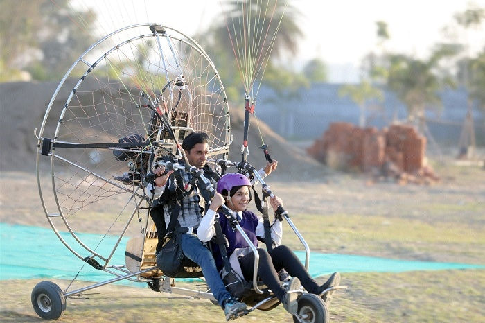 Adventure sports at Joy School end on high note