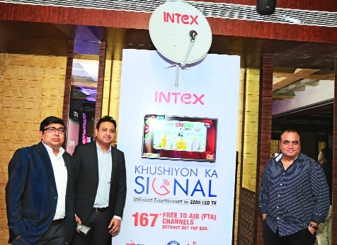 Intex launches 'Free-to-Air' LED TV
