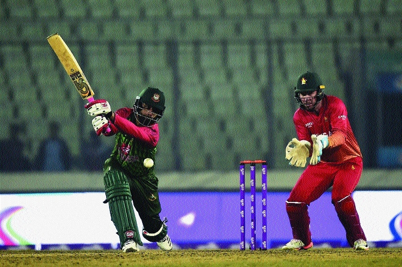 Tamim guides Bangladesh to 8-wicket win over Zimbabwe