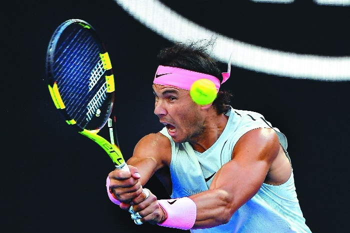 No problem for Nadal;Venus eclipsed