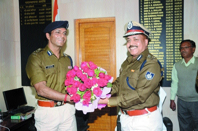 Dharmendra Choudhary takes charge as new DIG of Bhopal police