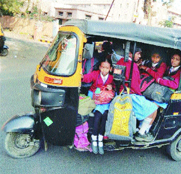 Drive against over-crowded school buses, vans today