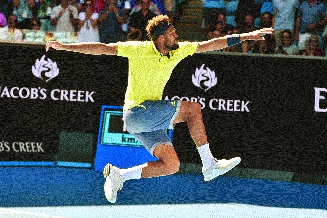Tsonga digs deep to reel in Shapovalov