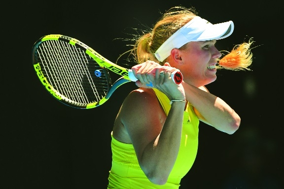 Nadal dominant as Wozniacki pulls off great escape