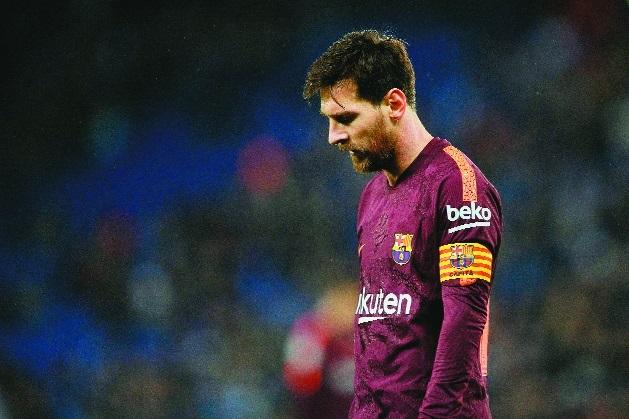 Espanyol stun Barca