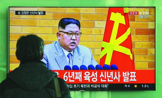 Nuclear button always on my desk: Kim