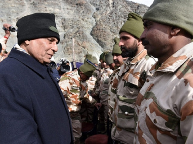 All posts along China border to get roads: Rajnath