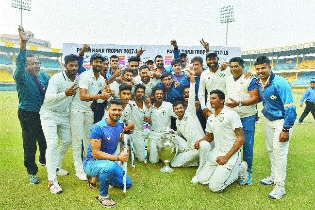Faiz Fazal and company create magic to win maiden Ranji Trophy