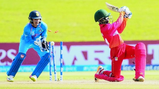 QF bound India hammer Zim