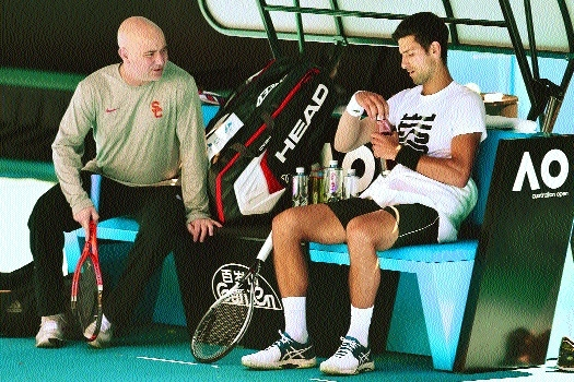 Physically extraordinary Djokovic is battle ready: Agassi