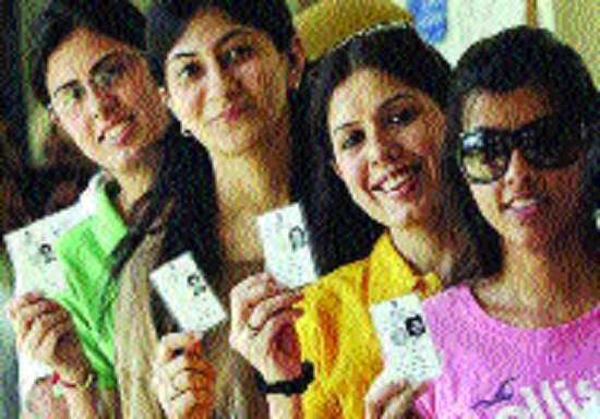 C'garh witnesses rise in number of women voters