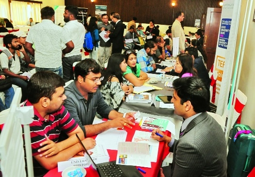 KC's 'Overseas Education Fair' a grand success