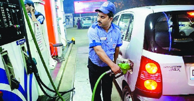 Petrol touches Rs 80.51 per litre mark in city