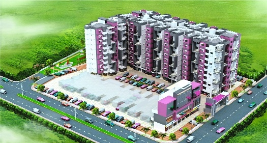 Last few flats remaining in SDPL Paradise, Dabha
